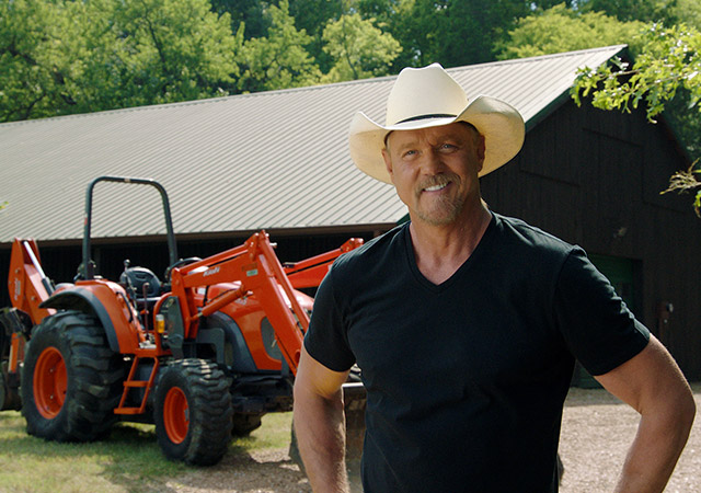 Trace Adkins Tractor