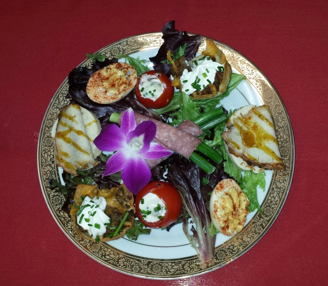 Assorted Appetizer Plate